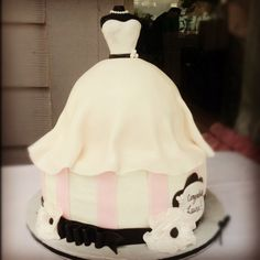 My sisters wedding shower cake :)