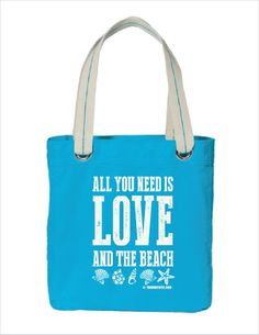 All You Need Is Love... and the Beach - Beach Bag