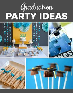 Graduation Party Ideas and Invitations to Match