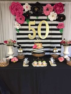 Claudette's Fabulous Fifty | CatchMyParty.com