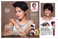 Teks astriana gemiati for JOY magazine  PhotoBy ricko sandy  In associate hairBy jeffry welly  Model arwinda