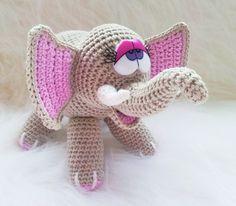 Häkle Dir diese süße Elefanten-Dame doch einfach selber. ★ Mit der…