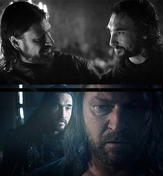 Brothers Benjen and Ned Stark, Game of Thrones