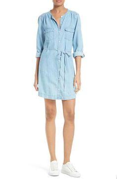 Soft Joie Milli Chambray Shirtdress