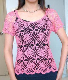 crochet top pattern pdf $2.99