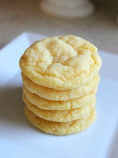 These cake mix pudding cookies might look plain and boring, but the flavor and texture is absolutely amazing! If you've got someone to bake for who doesn't like a lot of extra stuff in their cookies, THIS is the recipe you need!