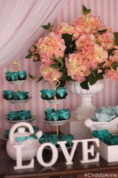 Chá de lingerie Tiffany & Co ♥ Anne |