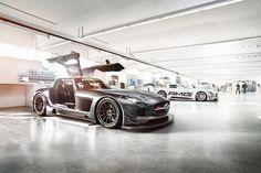 SLS AMG GT3 on Behance