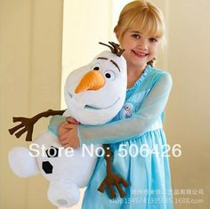 "2014 New Arrival Cartoon Toys Frozen Olaf Plush Toys 30CM 12"" Frozen Olaf dolls Baby toys ,Classic toys US $8.90"