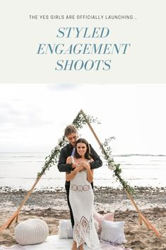 Did you recently get engaged? Need some help setting the scene for your engagement photos? We can help!