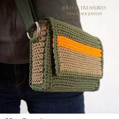Супер новый образ сумочки из #пряжалиана от @j.volohovskaya