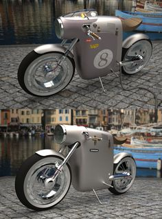 concept electric bike for OSSA by ART-TIC