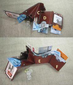 Купить Компактный кошелек. RFID-Защита. Портмоне. Бумажник в интернет магазине на Ярмарке Мастеров