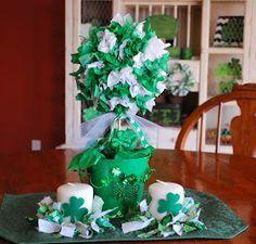 St. Patricks Day Centerpiece