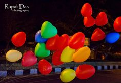 Balloons, photo, color, #bunch #colors