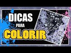 Atelier Gina Pafiadache: Dicas para colorir os livros Jardim Secreto e Floresta Encantada!