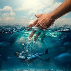 * If you're drowning in the same sin over & over & over, repent & come back to Jesus with your WHOLE heart & He will save you. Bible Images, Bible Pictures, Jesus Wallpaper, Pictures Of Jesus Christ, Jesus Painting, Prophetic Art, Biblical Art, Jesus Art, Jesus Is Lord