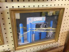 Chase What Counts. Chase Bank Riverside Fort Worth Texas. Digital print signed by Richie Budd (dealer 6925) available at 1010 N Riverfront Blvd, Dallas, TX 75207 (214) 749-1929