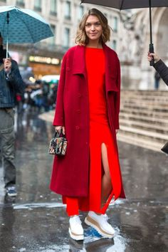 All of the best off the runway style happening in Paris: