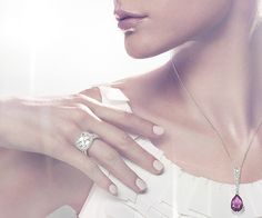 Anel noivado Simplicity Ring - Jewelry - Swarovski Online Shop