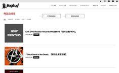 BugLug OFFICIAL WEBSITE | MUSIC WEB CLIPS - ミュージック・ウェブ・クリップス
