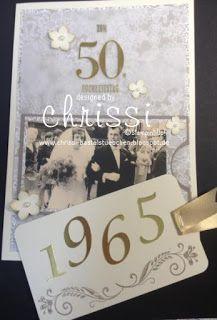 stampin up goldene Hochzeit, stampin up 50th wedding, stampin up wedding card, stampin up wedding chrissi's bastelstübchen