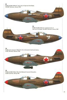 Bell N Airacobra in Soviet service, variants Ww2 Aircraft, Fighter Aircraft, Military Aircraft, Fighter Jets, Russian Plane, Luftwaffe, Aircraft Painting, American Fighter, Ww2 Planes