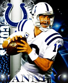 Peyton Manning for the Indianapolis Colts
