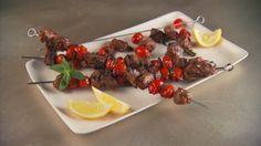 Lamb, Tomato, and Mint Kebabs