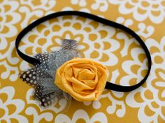 Chic vintage headband. DIY project for a Great Gatsby party or Midnight in Paris soiree.