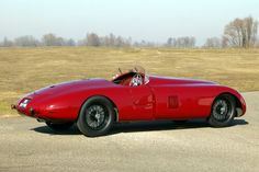 """1941 Alfa Romeo 8C 2900B Spider Corsa Sperimentale """"Balena"""". An experimental 180-hp 8 cylinder 2905cc prototype racing car designed by Gioachino Colombo. . It was the last example built of Alfa Romeo's greatest pre-war sports car – virtually a road-going Grand Prix racer, of which only 30 were made – and was raced in Argentina in 1949-51 by Carlos Perez de Villa."""