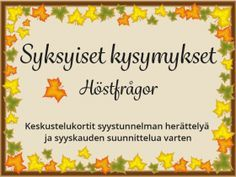 kysymyssarja Archives - RyhmäRenki Teaching Kindergarten, Early Childhood Education, Influencer Marketing, Photo Grouping, Activities, School, Crafts, Peda, Early Education