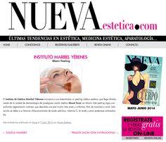 http://www.nuevaestetica.com/instituto-maribel-yebenes/  Prensa | Instituto de Belleza y Medicina Estética Maribel Yébenes