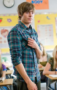 Zac  - 17 Again.  I absolutely love him in this movie!