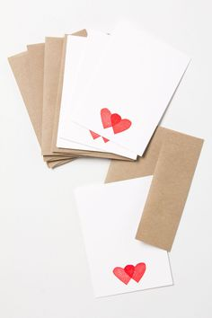 Little Hearts Note Cards.