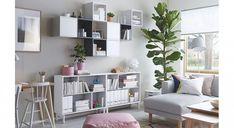Living Room Tv Wall Fresh Bookshelves for Living Room Ikea Best Living Room Flat. Living Room Tv W Small Living Room Storage, Living Room Wall Units, Ikea Living Room, Living Room Cabinets, Living Room Designs, Wall Cabinets, Small Rooms, Small Spaces, Ikea Eket