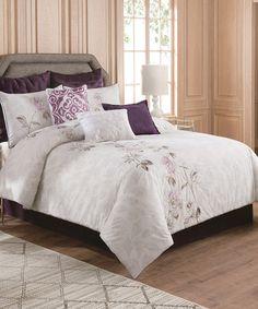Look what I found on #zulily! White Boheme Comforter Set #zulilyfinds