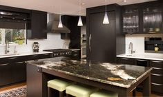 Bellevue Contemporary Kitchen - contemporary - kitchen - seattle - by NW Home Designers