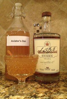Texas Bourbon Apple Cider! www.theaviatorsden.com
