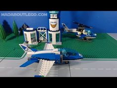 LEGO City Sky Police Parachute Arrest 60208 High-speed Sky Police jet, police motorbike and getaway buggy. 2 Sky Police officers and 2 crooks. Lego City Police, Brand Stickers, City Sky, Police Officer, Brick, World, Painting, Instagram, Painting Art