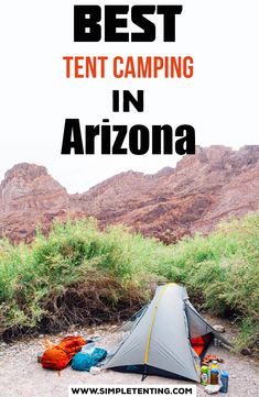 Looking for the best tent camping in Arizona? Find free Arizona tent camping, campgrounds, car camping, and many more camping places in this beautiful state, Arizona. See 20 different places: Camping Hacks, Camping Spots, Go Camping, Camping Heater, Camping Stuff, Camping Ideas, Banff, Zelt Camping, Weekend Camping Trip
