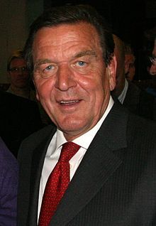 Gerhard Schröder-Gerhard Fritz Kurt Schröder (born 7 April 1944) is a German politician, and was Chancellor of Germany from 1998 to 2005. As a member of the Social Democratic Party of Germany (SPD), he led a coalition government of the SPD and the Greens. Before becoming a full-time politician, he was a lawyer, and before becoming Chancellor he served as Prime Minister of Lower Saxony (1990–1998).