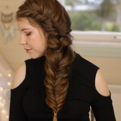 New tutorial is up on our YouTube channel, were Mia shows you how to create 3 easy back to school hairstyles! This is one of them❤️ Link in bio