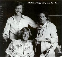 Barry Manilow with Ron Dante and Michael DeLugg