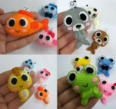 Sea Creature Fish Seal Seahorse Frog PICK ONE by araleling