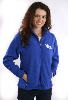 Yes Scotland Fleece  Was £29.99  Now £26.99  #indyref #Scotland #Yescampaign #Fleece #YesScotland