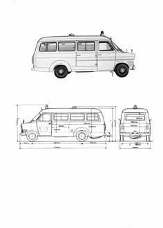 Fiat 238 blueprint blueprints pinterest fiat vehicle and cars ford transit blueprint malvernweather Image collections