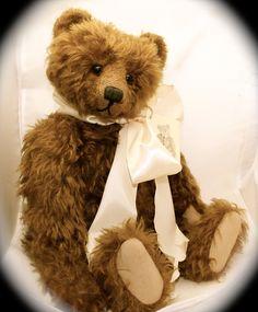 """Audie Sison OOAK 17"""" Mohair bear #AudieSison"""