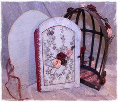 Sandy-Craft: Dornröschen lässt grüßen ..... Bookends, Mirror, Furniture, Home Decor, Homemade Home Decor, Mirrors, Home Furnishings, Decoration Home, Arredamento