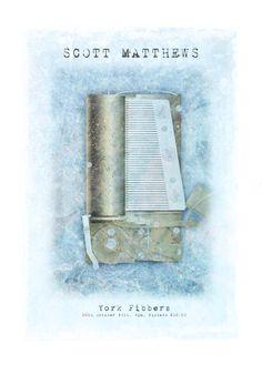 "SCOTT MATTHEWS - YORK ""The musical box is playing ballerina chimes"""